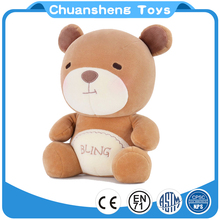 CHStoy Factory OEM design fashion plush Bear soft stuffed toy for kids