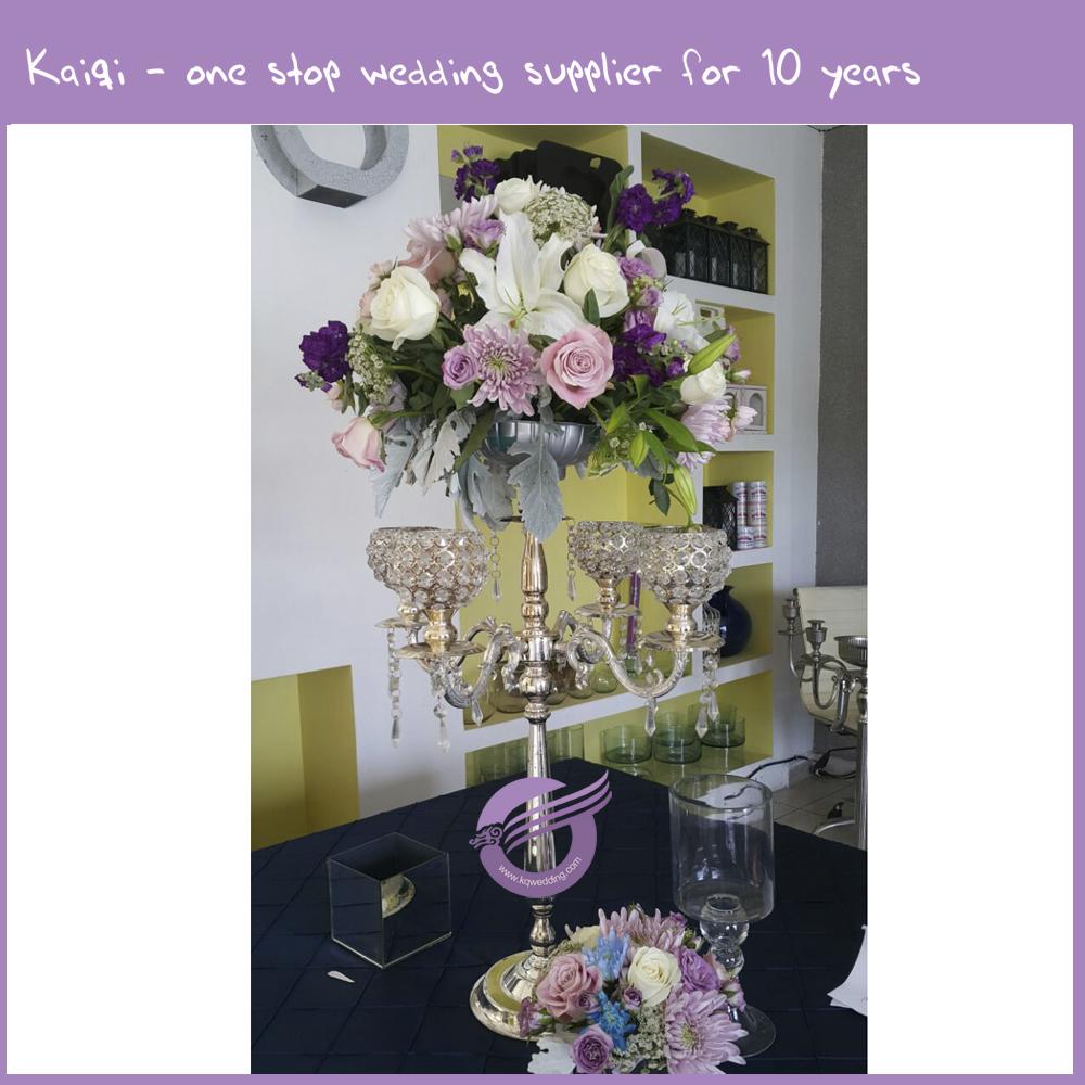 Zt wholesale wedding tall gold candelabras