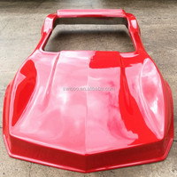 3/4 Scale Chevrolet Corvette Sting Ray Twin Seat Mini Hotrod Car Fiberglass Body