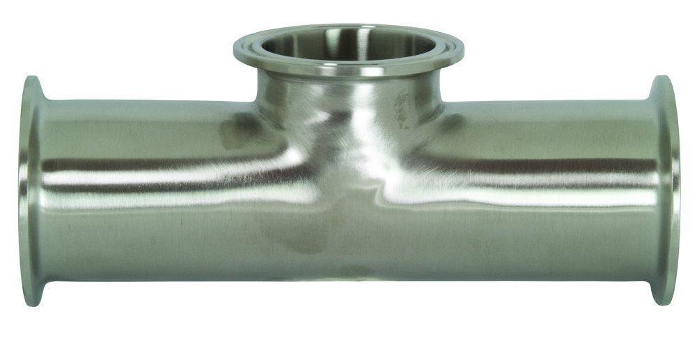 Dixon B7RMP-R200100 316L Clamp Reducing Tee 2 x 1 1.5 2 x 1 1.5