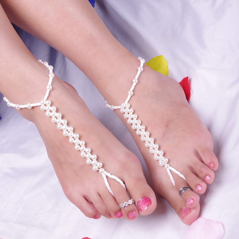XR-47 Hand Made Silver Anklets Designs