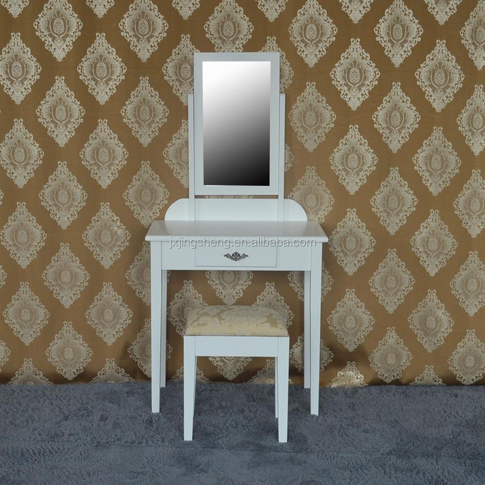 Moderne slaapkamer meubilair make up kaptafel met spiegel bureau ...