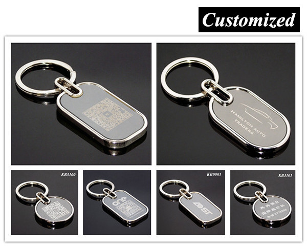 HOT SELL Simple Variety of Designs Round House Heart Car Shape Alloy Blank Key Chain Wholesale Promotional Cheap Metal Key Chain
