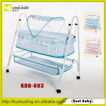 Manufacturer Portable Lightweight Swing Baby Bed With Mosquito Net ...