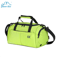 green medication lightweight small gym bag Hot sale Waterproof nylon folding hidden compartment travel bag for sport woman