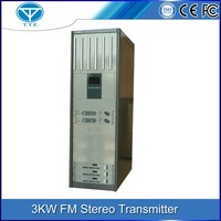 TY-103K 3kw FM high power radio wireless digital satellite transmitter for sale