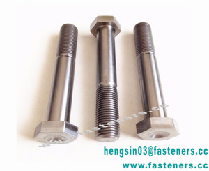 Chinese motorcycle screws and nuts Titanium hexagon head screws