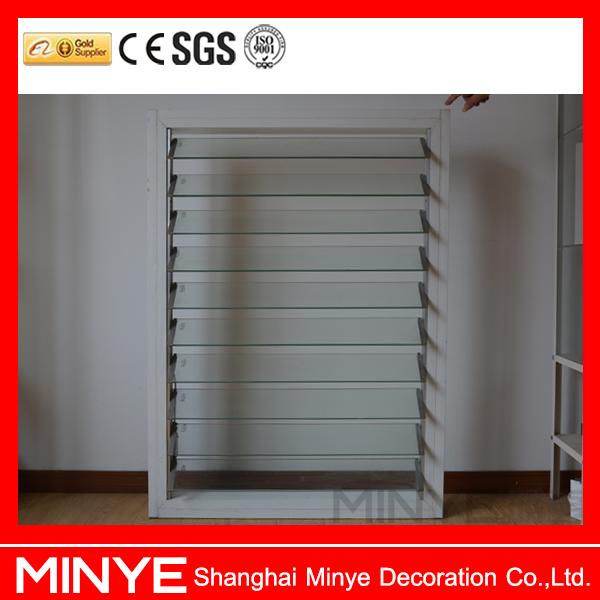 aluminum exterior shutters aluminum louver shutter window