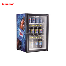Smad Wholesale 21L Mini Showcase Display Cold Showcase Display Refrigerator With CE