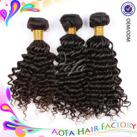 Prompt delivery high quality 100% human hair grade 7a virgin hair