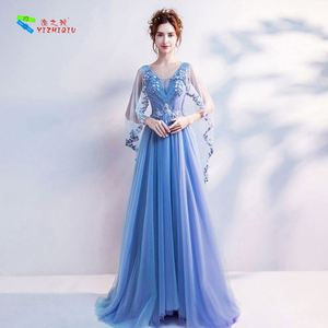 YIZHIQIU beaded party wear dress patterns dress party evening
