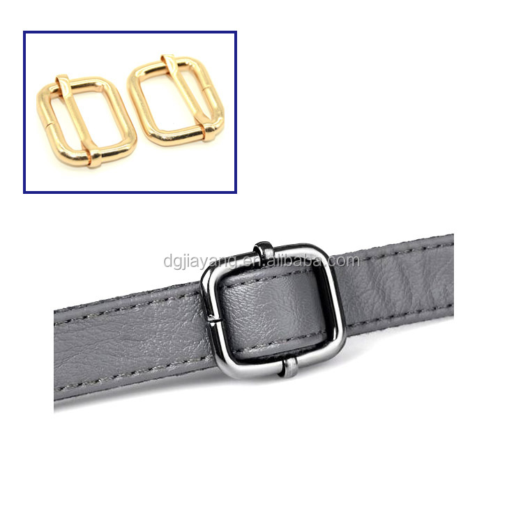 25mm Gold or Silver Waistcoat Buckle with Adjusting Slider Bar