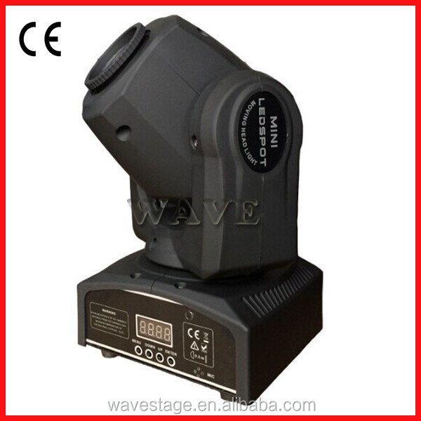 WLEDM-14 CE 10W LED gobo moving head light headlight led disco