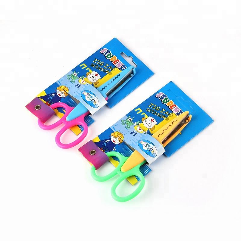 Considerate Plastic Scissors Safety Round Head Scissors For Kids Students Paper Cutting Supplies For Kindergarten School Superior Materials Cutting Supplies Office & School Supplies
