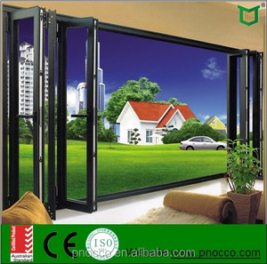 Aluminium Window Manufacturer Double Glazing Folding Door/Bi-Fold Door/Stacking Door