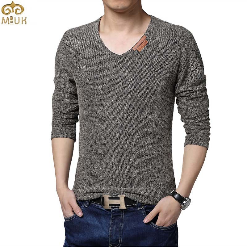 4b82ac15390 Buy Super Large Size Solid T Shirt Men 6XL 5XL V Neck Sport Hip Hop Tshirt  Cotton Long Sleeve Black Gray Mens T Shirts Fashion 2015 in Cheap Price on  ...