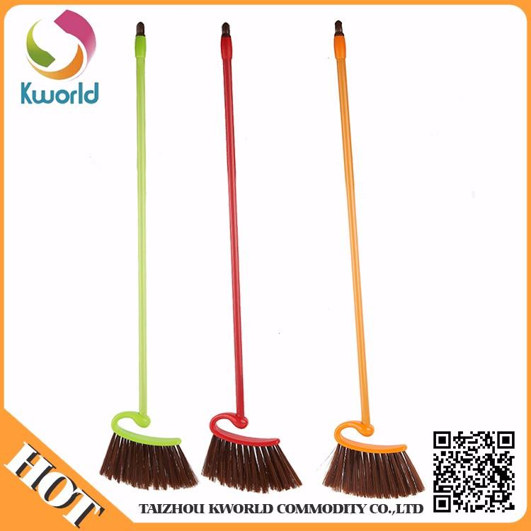 Uzun saplı yüksek kaliteli plastik temiz süpürge