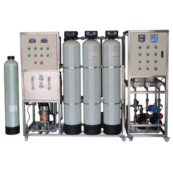 500LPH EDI +Polishing System Water Purification Equipment for Industrial Water/ RO+EDI+Polishing Resin Water Treatment Machine