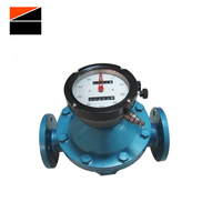 4-20MA Output Heavy Oil Fuel Bitumen Dispenser Tank Truck Positive Displacement Pd Oval Gear Flow Meters