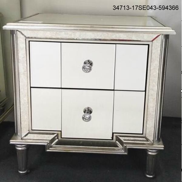 Hot sales Night stand with 2 drawers 34713-17SE043-594366