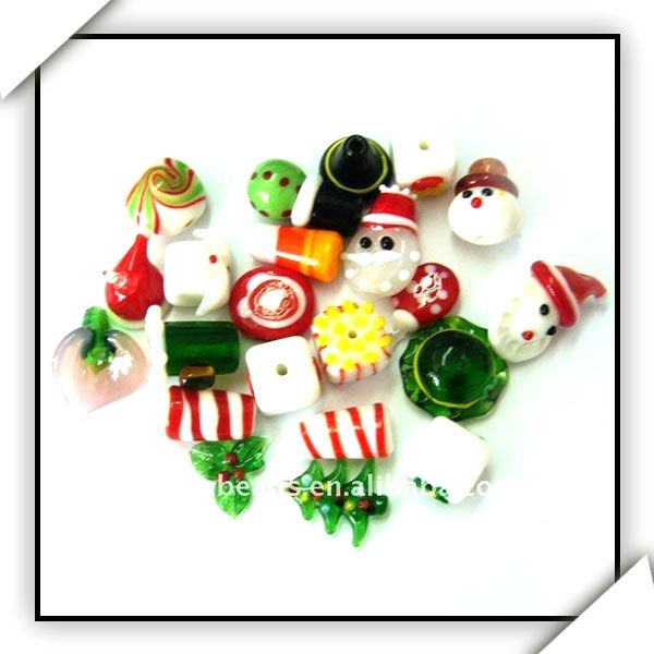 handmade glass christmas series/christmas ornaments