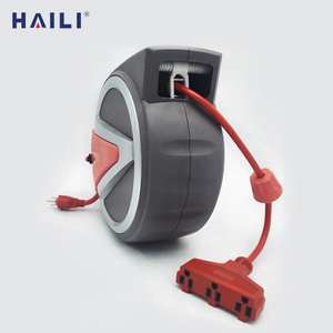 65ft ceiling mounted automatic retractable cord reels electric