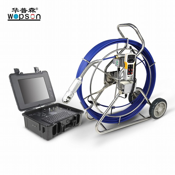 Wopson 360 Rotation Waterpoof Video CCTV Inspection Camera PTZ For Pipeline Inspection