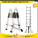 9 step + 9 step 5.6m 5 meter double side telescopic ladder