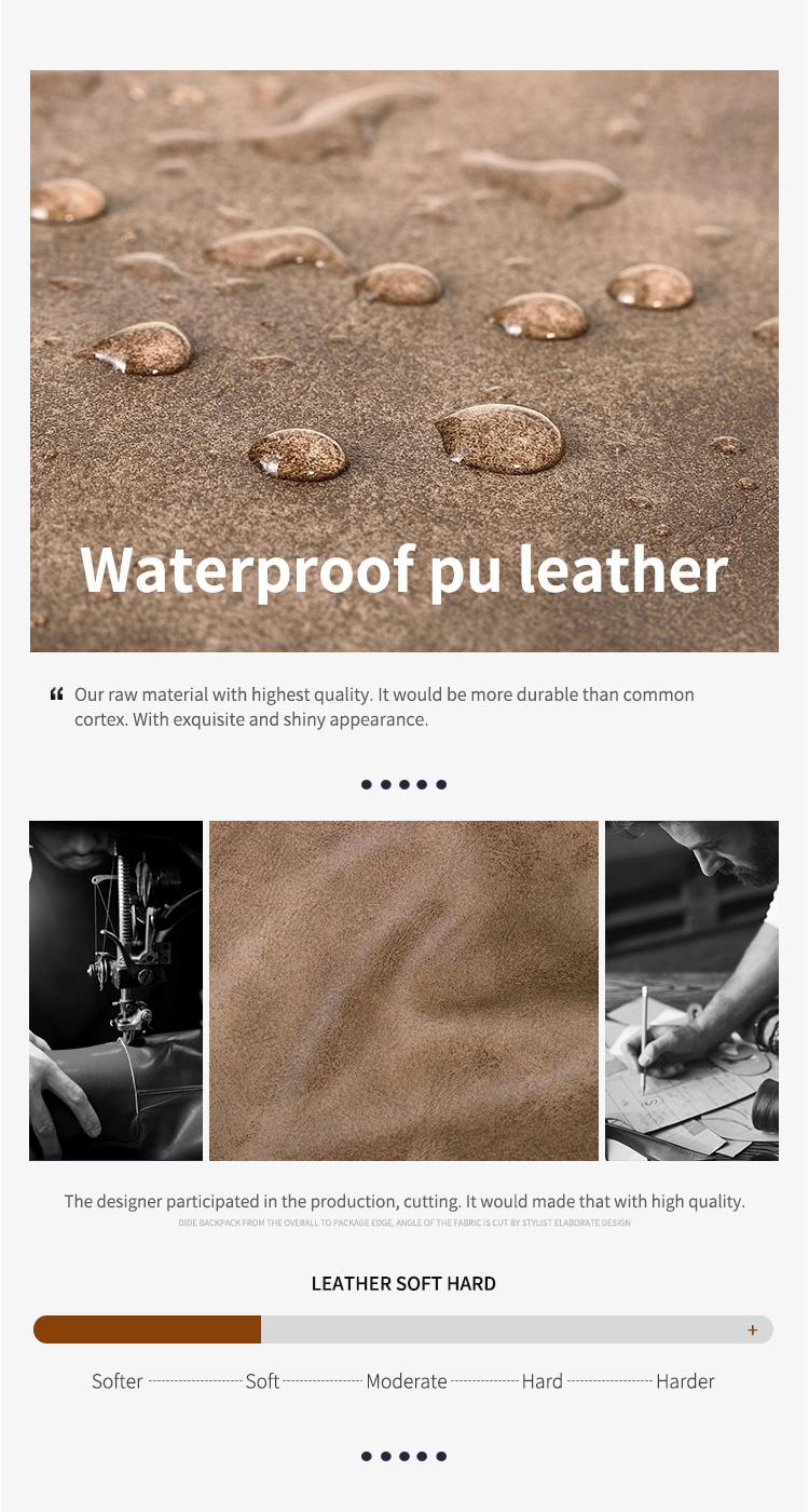 DIDE ONE-SHOULDER-MEERJUNGFRAUENKLEID Wasserdichte Multifunktions Leder Umhängetasche, Kleine Schulter Messenger Tasche Männer
