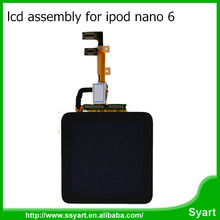 Fast Shipping Front Glass Touch Screen LCD & Digitizer Assembly For Apple iPod Nano 6th Gen