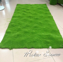 Wholesale high quality indoor decoration artificial moss carpet in factory price