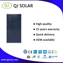 QJ A grade high efficiency poly solar panels 300 watt