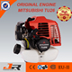 Factory price 25.6cc Mitsubishi brush cutter/ mitsubishi original engine