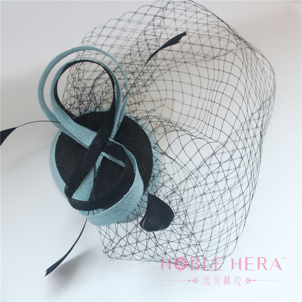The High Quality Small Wedding Sinamay Hats For Girls Gift