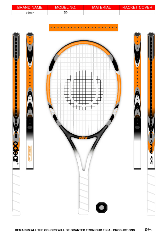 High Quality Tennis Racket Manufacture