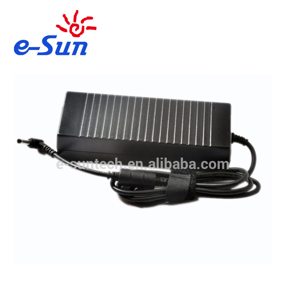 Brand new portable laptop power adapter charger with 120W 19V 6.3A supply factory