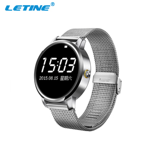 2016 New round face smart watch bluetooth smartwatch with heart rate monitor V360 wristwatch