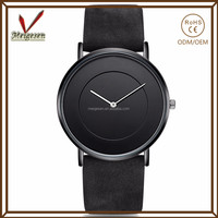 China factory custom your logo 2016 new design women leather watch