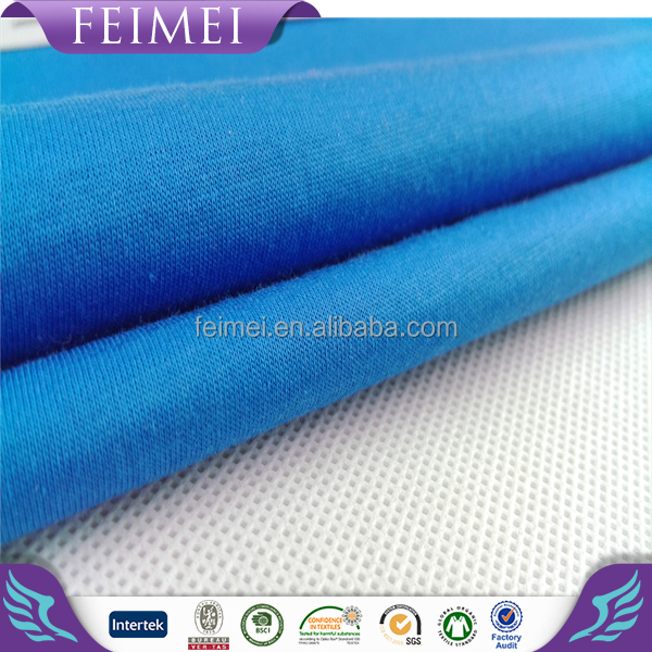 Knitted jersey 100% Mercerized Cotton fabric wholesale