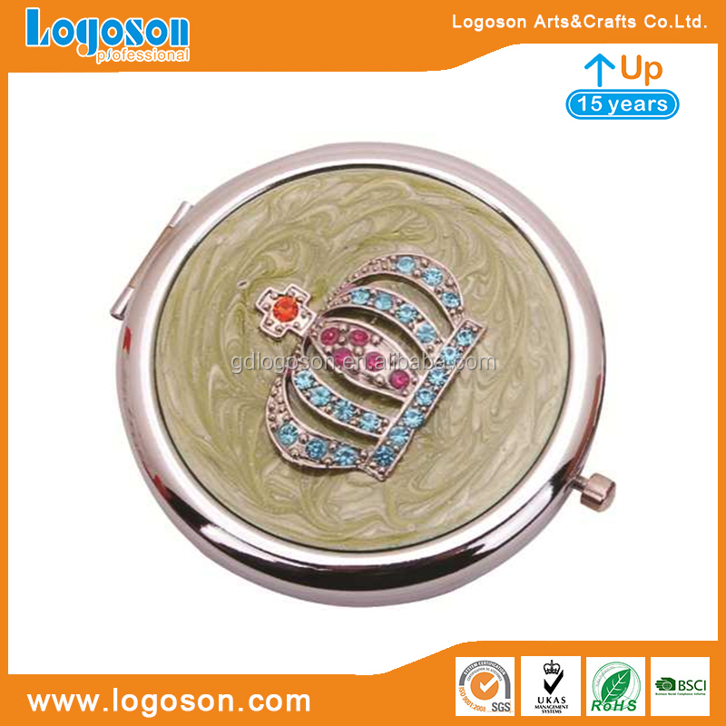 Zhongshan factory Wholesale pocket mirrors compact mirror beauty mirror