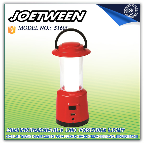 Outdoor LED power charger camping solar lantern book lamp wood rechargeable portable lantern