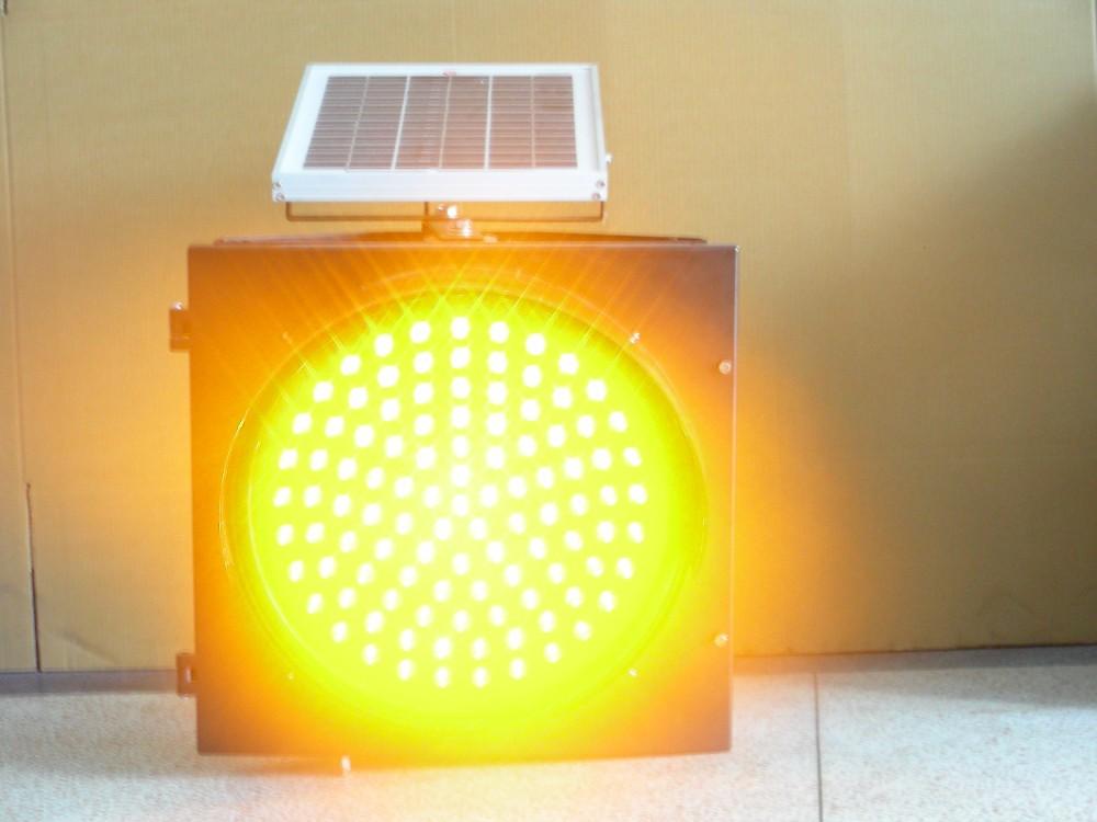s curit routi re jaune signal lumineux d 39 avertissement led clignotant solaire buy lumi re. Black Bedroom Furniture Sets. Home Design Ideas