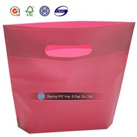 bag 2014 new product packaging breathable plastic bag clear pvc plastic bag with snap button