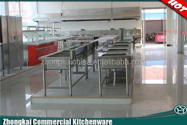 Kitchen Led Lighting Slim Stainless Steel Restaurant Range Hood ...