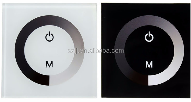 neueste dc12 24v led touch schalter 1 channle f hrte dimmer controller dimmer produkt id. Black Bedroom Furniture Sets. Home Design Ideas