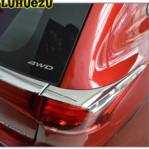 Car Exterior Chrome Chromed Tail Light Trim Rear Lamp Cover For Mitsubishi Outlander Accessories 2016 2017 2018
