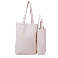 Factory Custom Low MOQ 10OZ Cotton Grocery Bag with Bottom