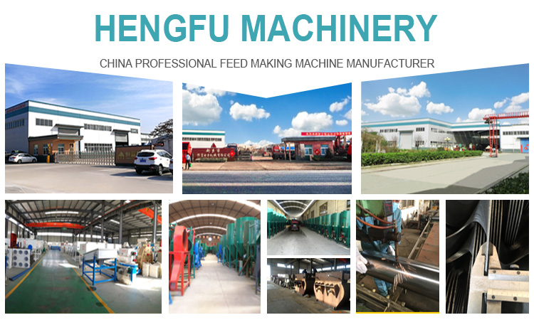 HNHF animal feed processing small chicken pellet feed making SSLG crumbler