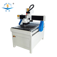 small size 6090 3axis cnc router wood metal carving machine with 1.5KW Spindle
