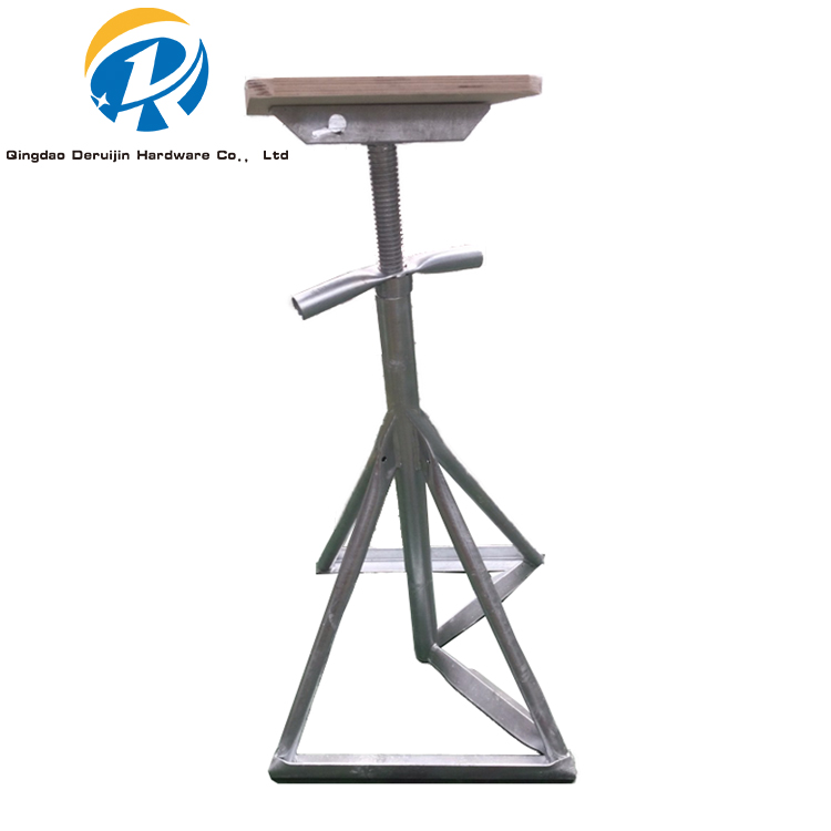 New Arrival Customize Obliqu Vertical Type Weldable Boat Stand